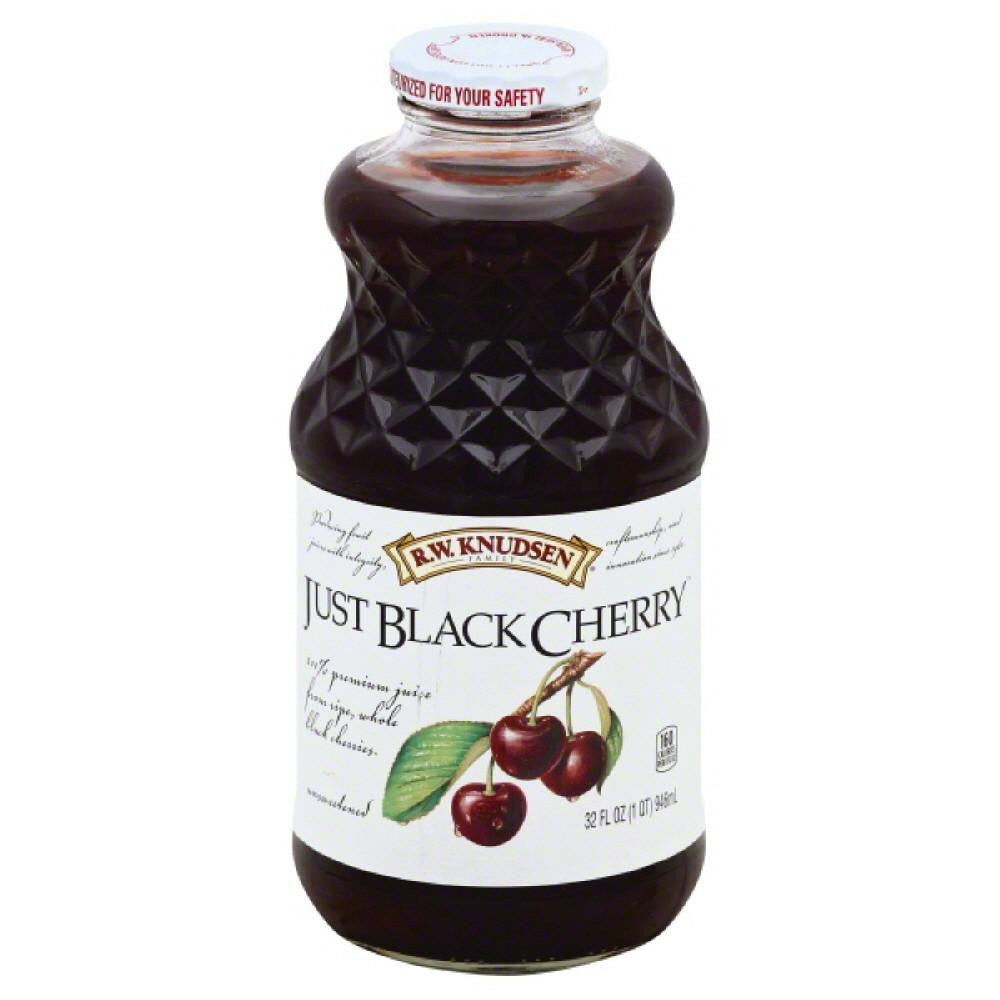 RW Knudsen Just Black Cherry 100% Juice, 32 Fo (Pack of 6)