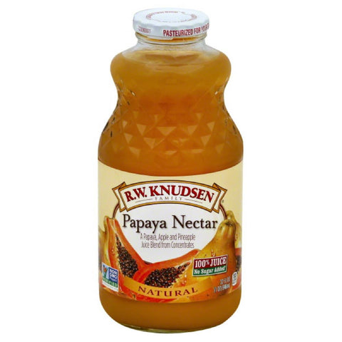 RW Knudsen Papaya Nectar, 32 Fo (Pack of 6)