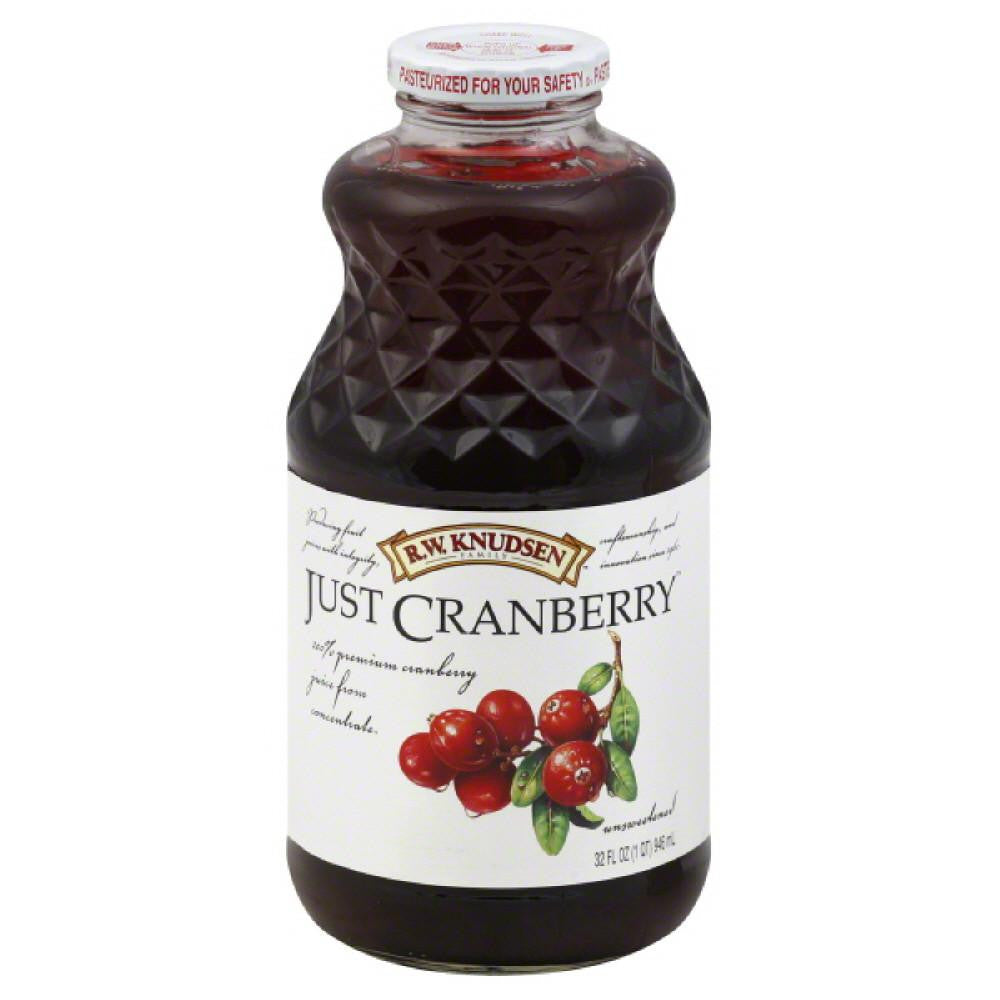 RW Knudsen Just Cranberry Juice, 32 Fo (Pack of 6)