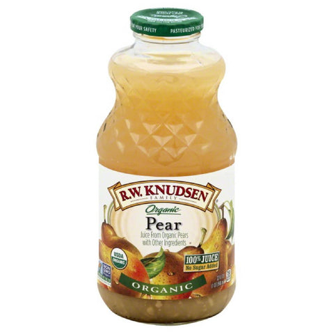 RW Knudsen Pear 100% Juice, 32 Fo (Pack of 6)