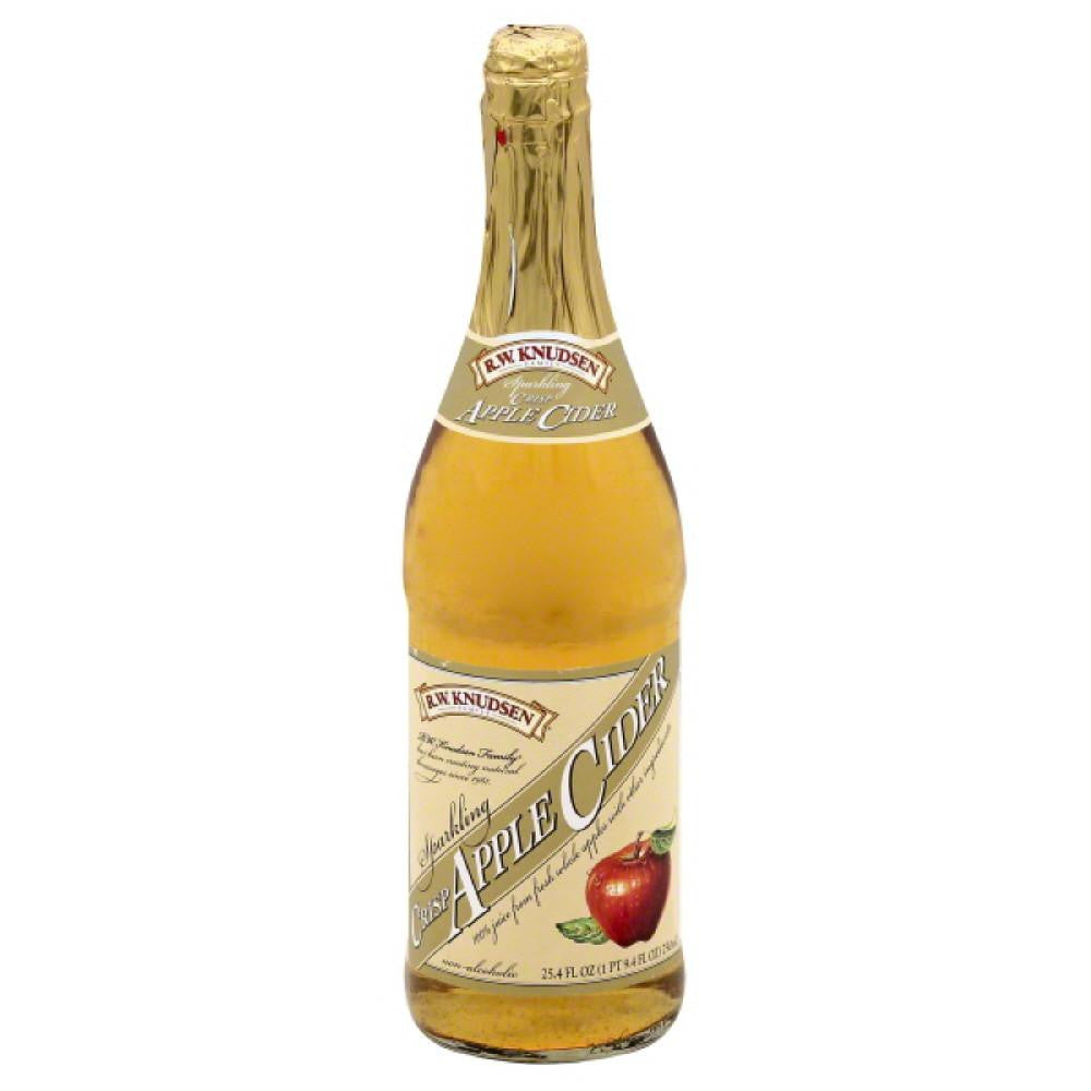 RW Knudsen Sparkling Crisp Apple Cider, 25.4 Fo (Pack of 12)