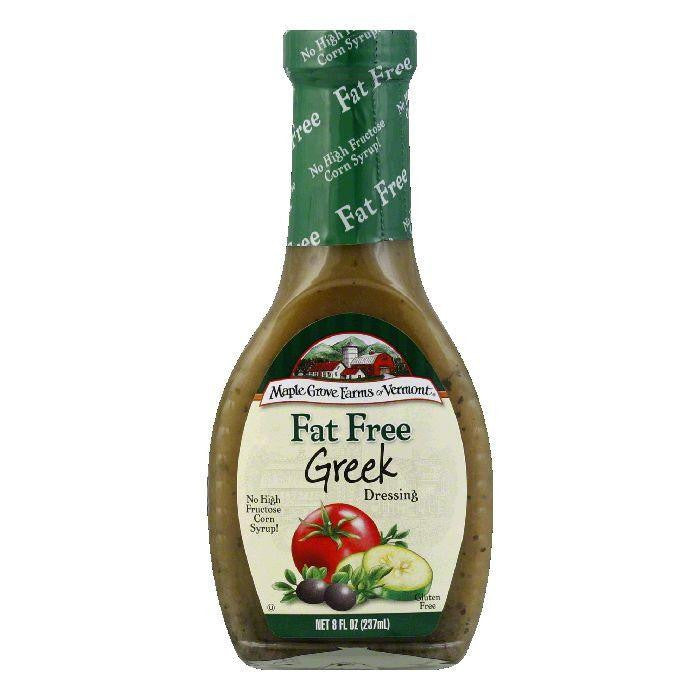 Maple Grove Farms Dressing Greek, 8 OZ (Pack of 6)
