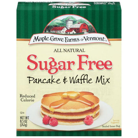 Maple Grove Farms Sugar Free Pancake & Waffle Mix 8.5 Oz (Pack of 8)