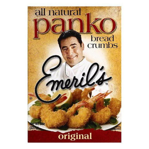 Emerils Original Panko Bread Crumbs, 8 OZ (Pack of 6)