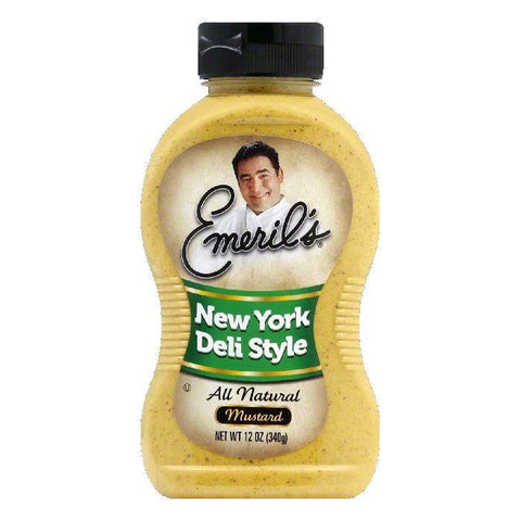 Emeril's Mustard New York Deli Style, 12 OZ (Pack of 6)