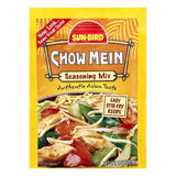 Sun Bird Chow Mein Seasoning Mix, 1 OZ (Pack of 24)