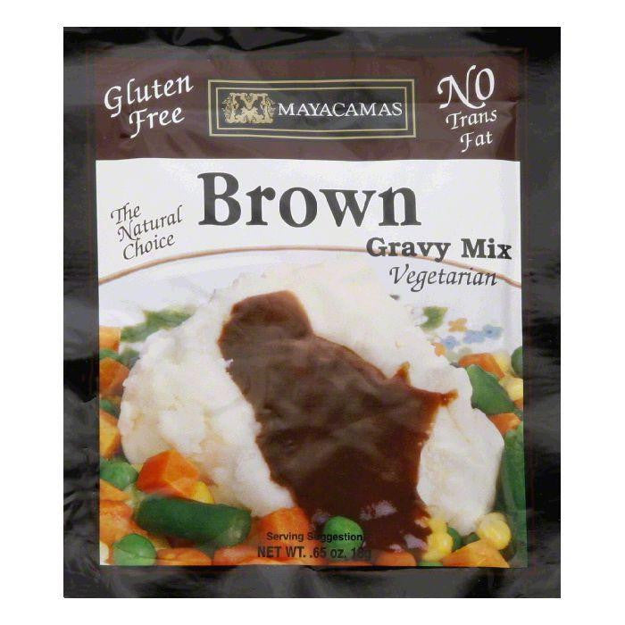 Mayacama Gravy Mix Brown, 0.7 OZ (Pack of 12)