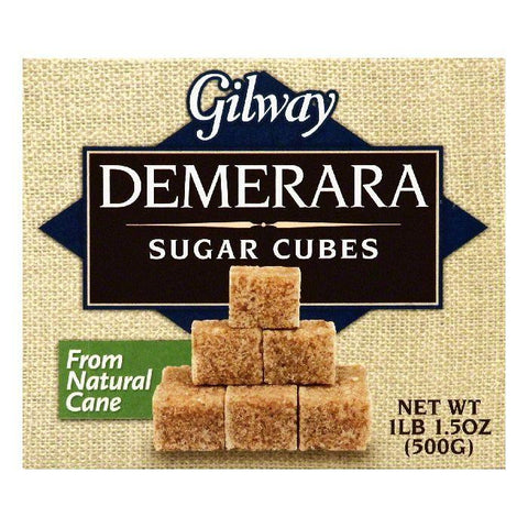 Gilway Cubes Demerara Sugar, 17.5 OZ (Pack of 10)