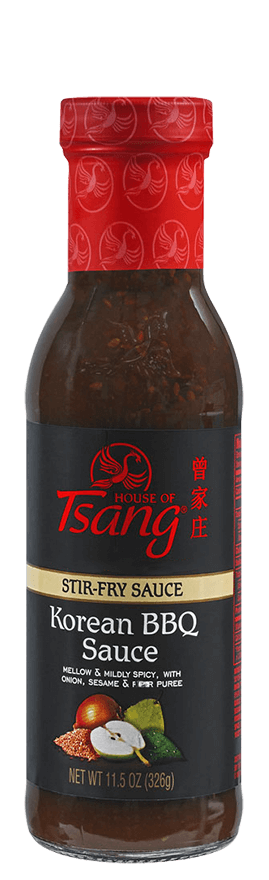 House Of Tsang Korean BBQ Sauce Stir-Fry Sauce, 11.5 Oz (Pack of 6)
