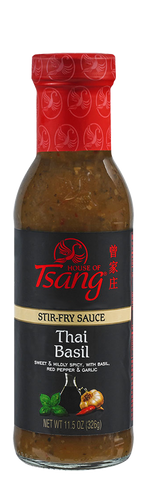 House Of Tsang Thai Basil Stir-Fry Sauce, 11.5 Oz (Pack of 6)