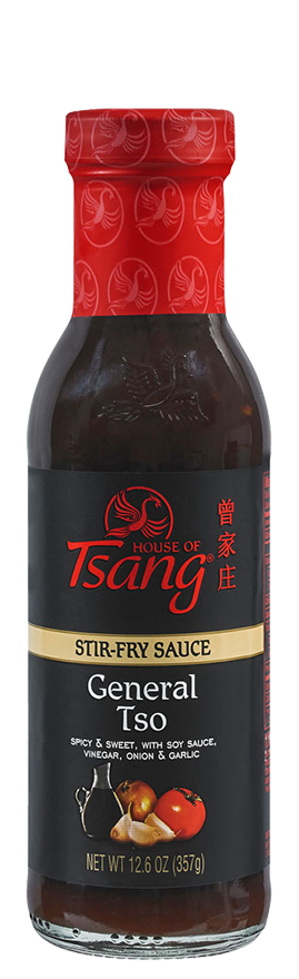 House of Tsang General Tsao Stir-Fry Sauce 12.6 Oz (Pack of 6)