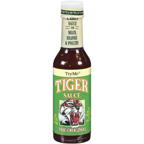 Try Me The Original Tiger Sauce 5 Oz  (Pack of 6)