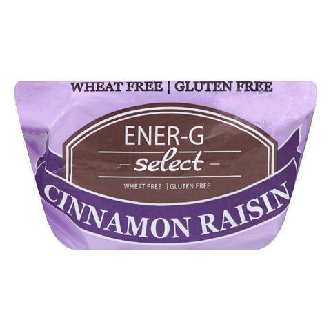 EnerG Cinnamon Raisin Bread, 14 OZ (Pack of 6)