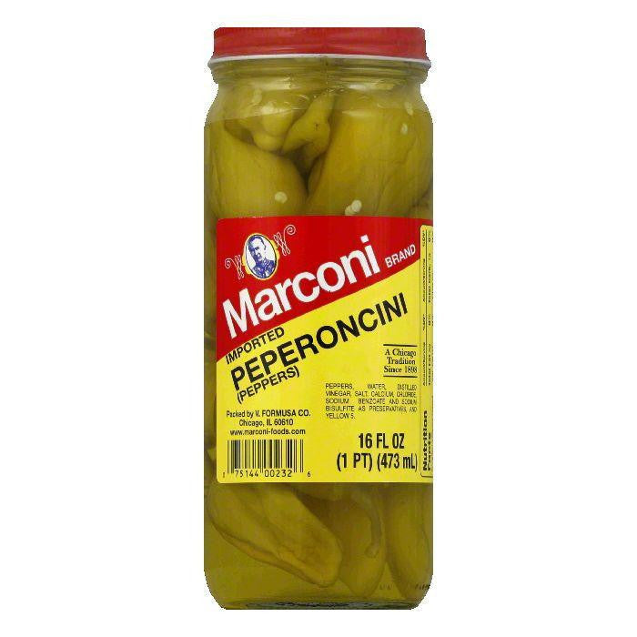 Marconi Imported Pepperoncini, 16 OZ (Pack of 12)