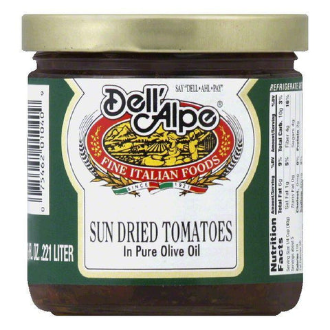 Dell' Alpe Sun Dried Tomatoes, 7.5 OZ (Pack of 12)