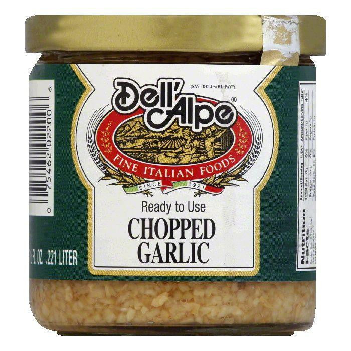 Dell' Alpe Chopped Garlic, 7.5 OZ (Pack of 12)
