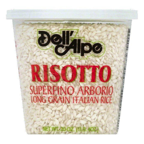 Dell Alpe Superfino Arborio Risotto, 20 OZ (Pack of 6)