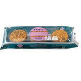 San J Tamari Brown Sesame Brown Rice Crackers, 3.7 OZ (Pack of 12)