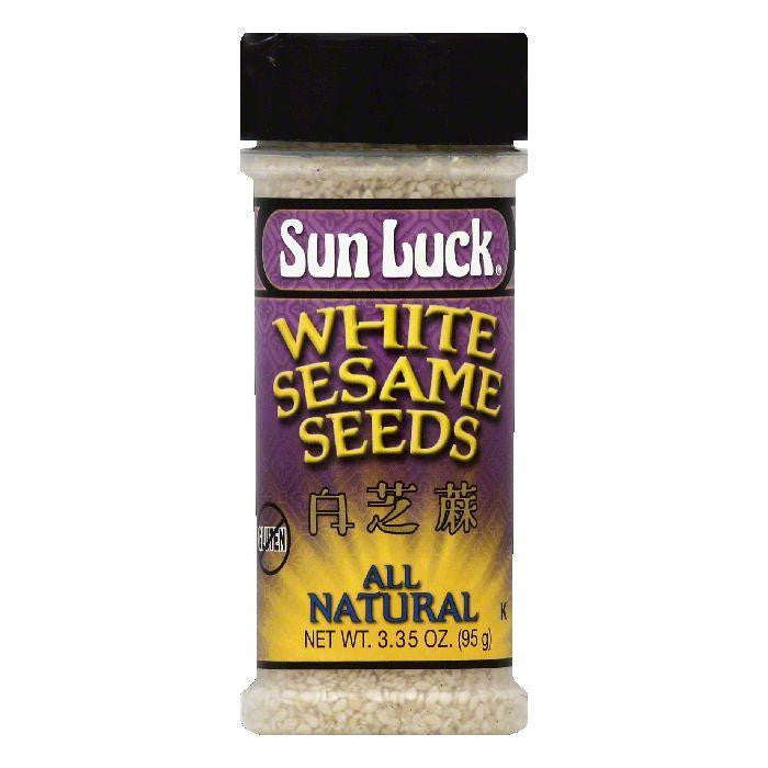 Sun Luck White Sesame Seeds, 3.35 OZ (Pack of 6)