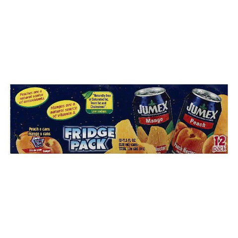 Jumex Fridge Pack Assorted Nectar, 12 ea