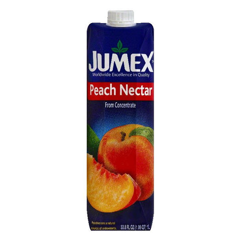 Jumex Peach Nectar, 33.8 OZ (Pack of 12)