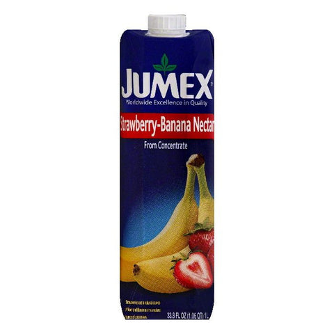 Jumex Strawberry-Banana Nectar, 33.8 OZ (Pack of 12)