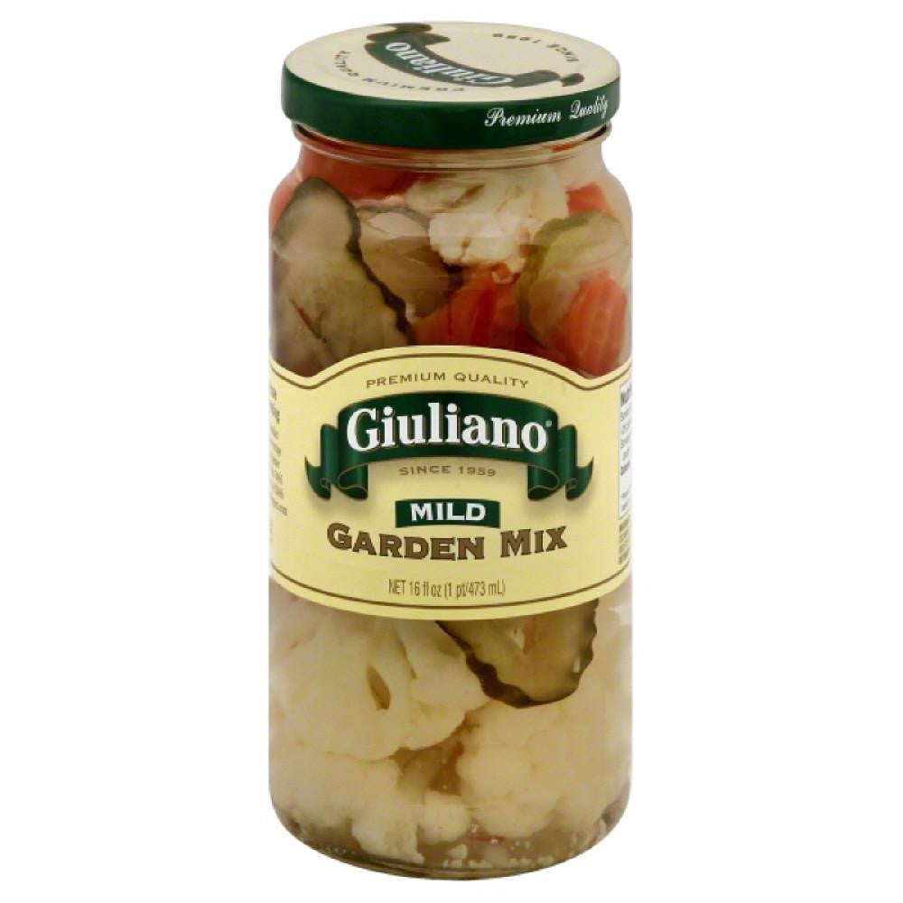 Giuliano Mild Garden Mix, 16 Oz (Pack of 6)