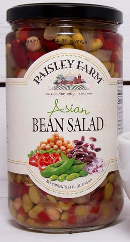 Paisley Farm Asian Bean Salad, 24 OZ (Pack of 6)