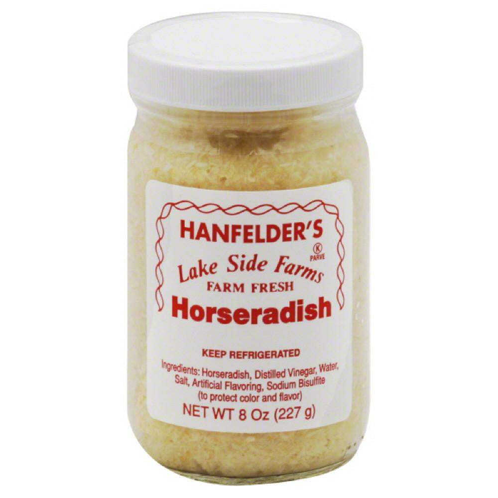 Hanfelders Horseradish, 8 Oz (Pack of 12)