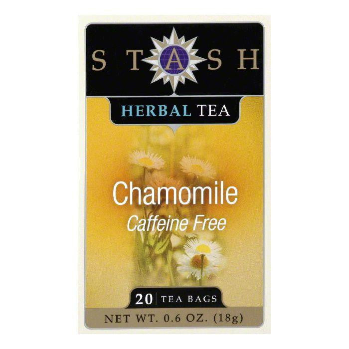 Stash Tea Stash Caffeine Free Herb Chamomile, 20 BG (Pack of 6)