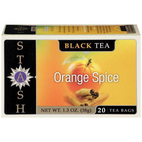 STASH Orange Spice 20 Ct Tea Bags 1.3 OZ (Pack of 6)