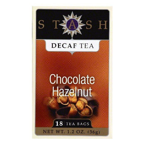 Stash Bags Decaf Chocolate Hazelnut Tea, 18 ea (Pack of 6)