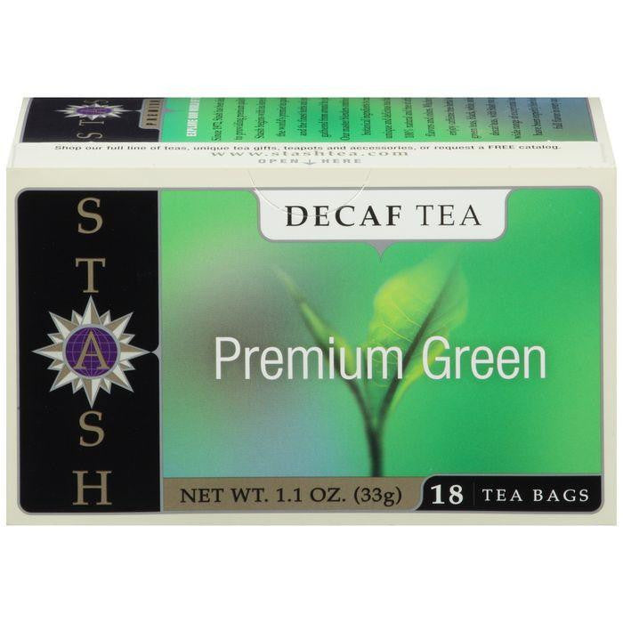 Stash Premium Green Decaf Tea Bags 18 ct (Pack of 6)