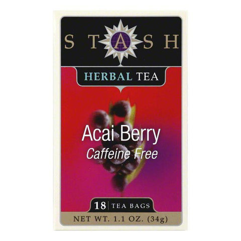 Stash Tea Acai Berry, 18 BG (Pack of 6)