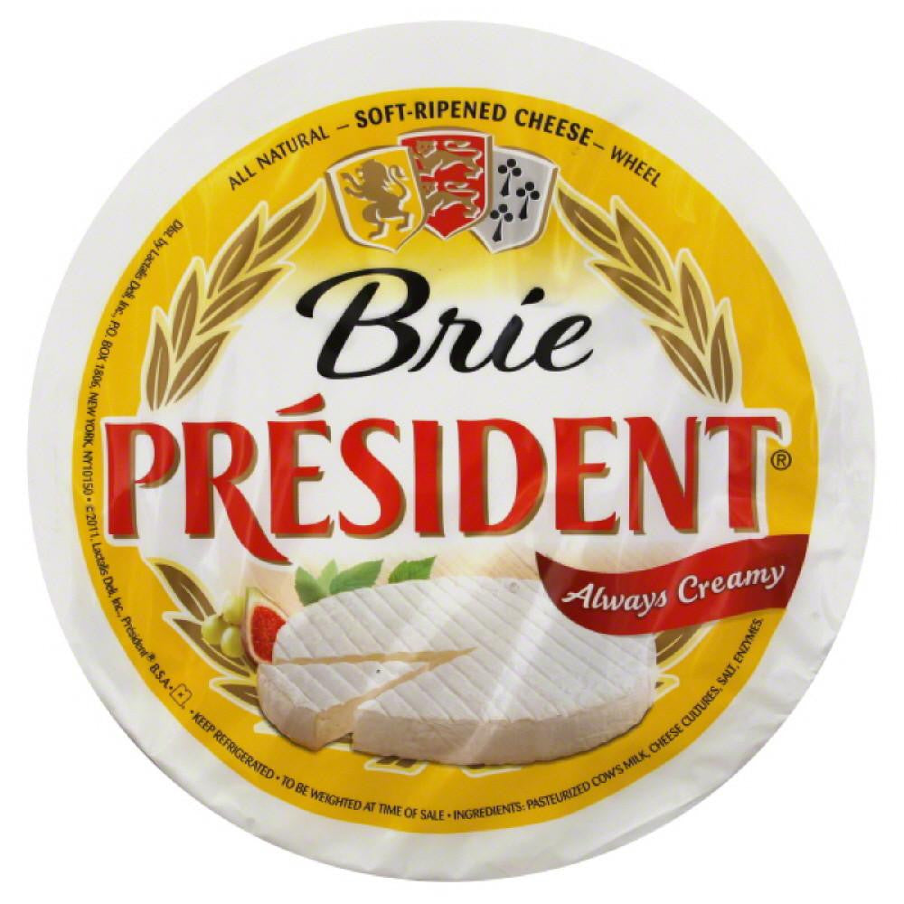 President Wheel Brie Cheese, 6.2 Lb