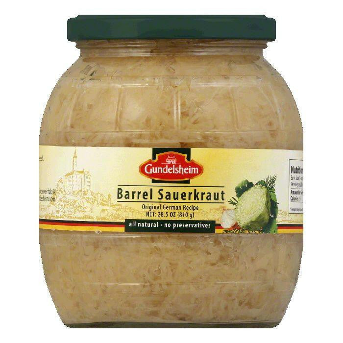 Gundelsheim Barrel Sauerkraut, 28.5 OZ (Pack of 6)
