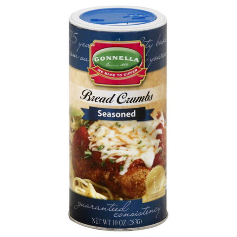 Gonnella Seasoned Bread Crumbs, 10 Oz (Pack of 12)