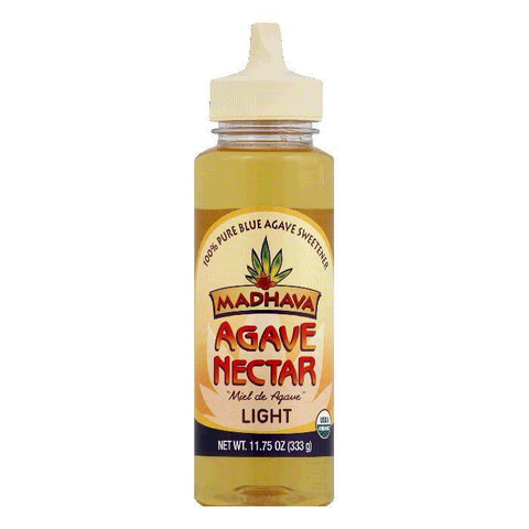 Madhava Nectar Agave Light, 11.75 OZ (Pack of 6)