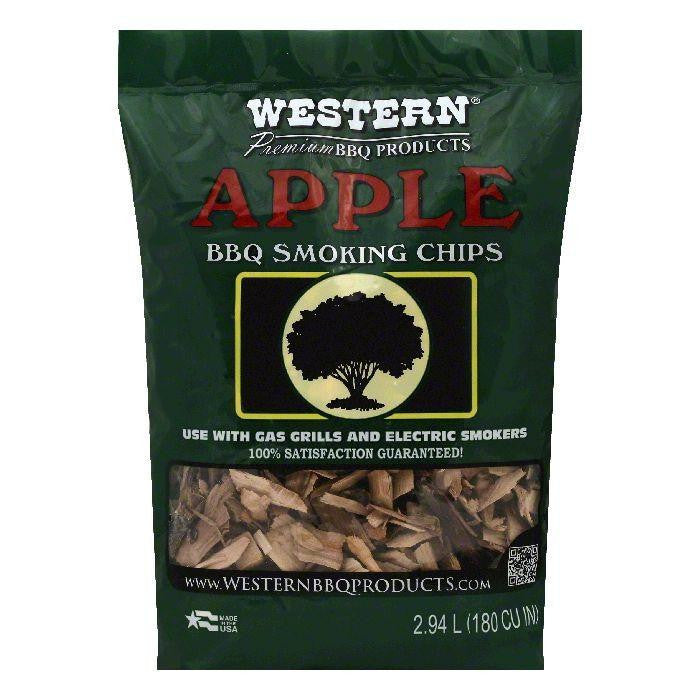 Western Apple BBQ Smoking Chips, 1 bag (Pack of 6)