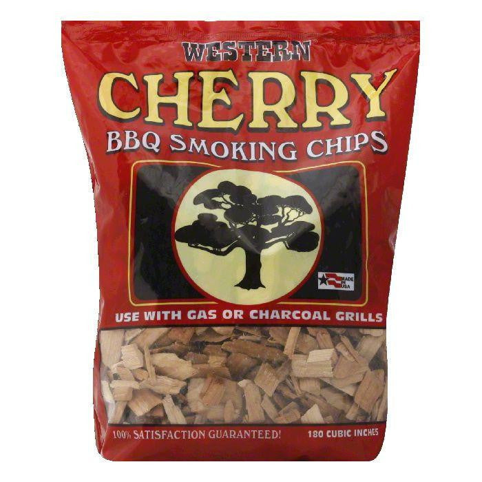 Western Cherry Smoking Chips, 2 LB (Pack of 6)