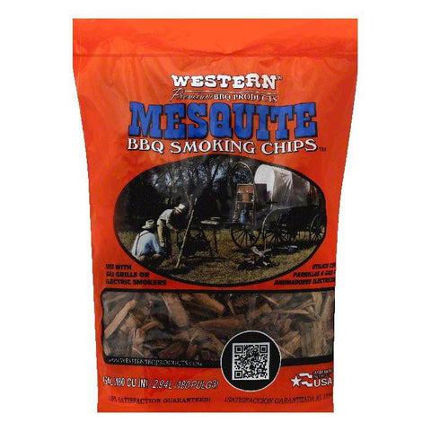 Western Mesquite BBQ Smoking Chips, 1 ea (Pack of 6)