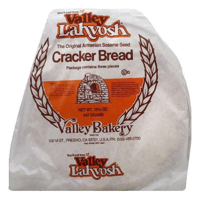 Valley Lahvosh The Original Armenian Sesame Seed Cracker Bread, 15.75 OZ (Pack of 7)