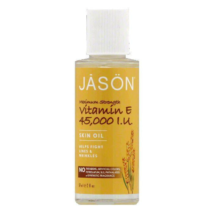 Jason Maximum Strength Vitamin E Skin Oil, 2 Oz