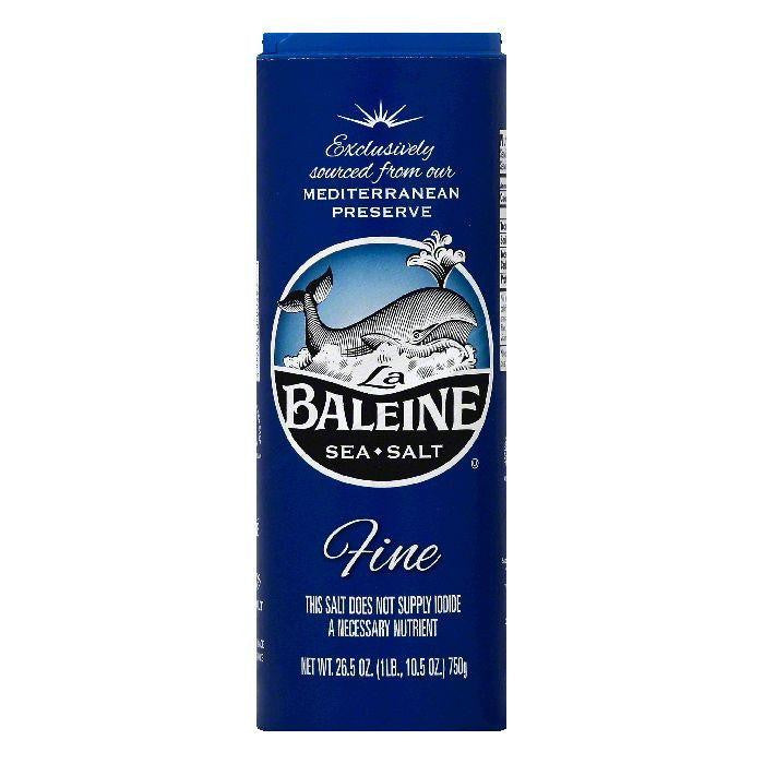 La Baleine Fine Sea Salt, 26.5 OZ (Pack of 12)