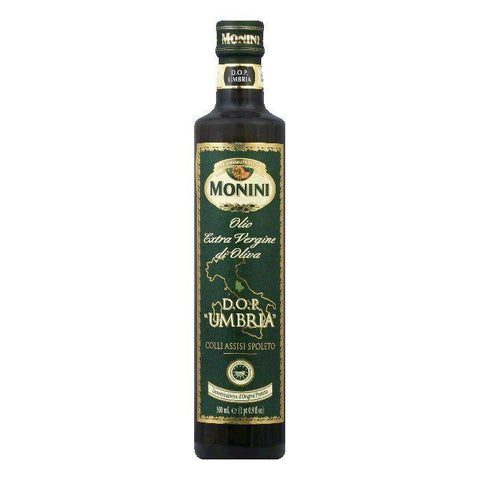 Monini Extra Virgin Olive Oil, 16.9 OZ (Pack of 6)