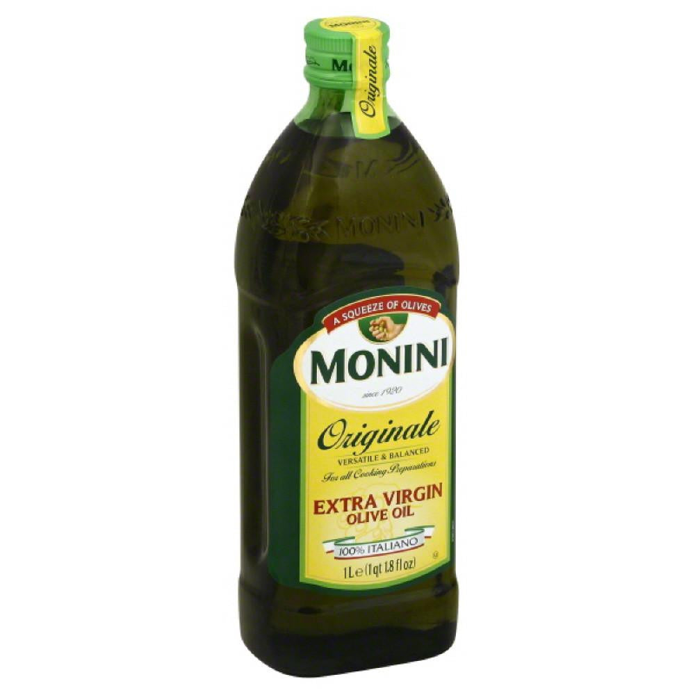 Monini Originale Extra Virgin Olive Oil, 33.8 Oz (Pack of 12)