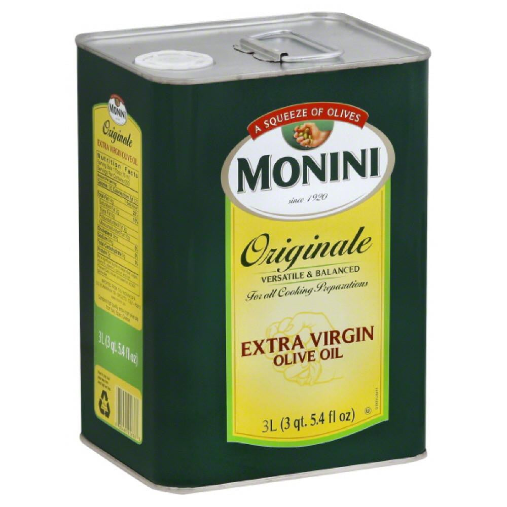 Monini Originale Extra Virgin Olive Oil, 3 Lt (Pack of 4)