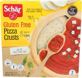 Schar Gluten Free Pizza Crusts, 10.6 Oz (Pack of 4)