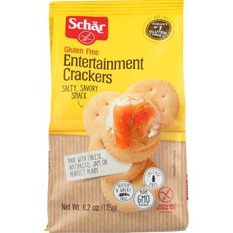 Schar Entertainment Crackers, 6.2 OZ (Pack of 6)