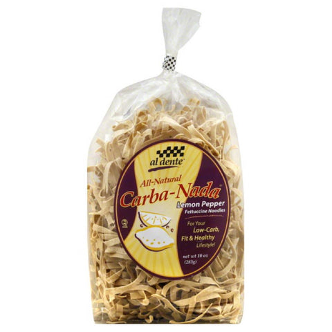 Al Dente Lemon Pepper Fettuccine, 10 Oz (Pack of 6)